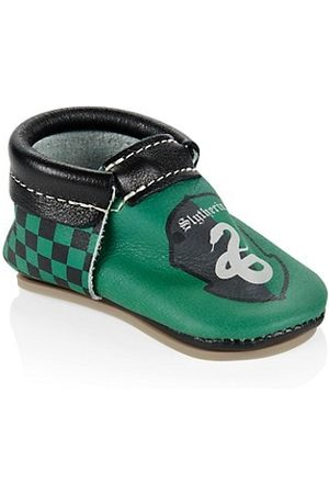Freshly Picked Baby's & Little Kid's x Harry Potter Slytherin Moccasin