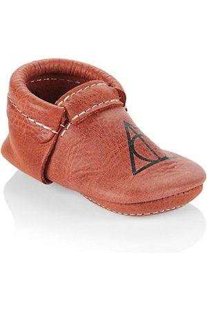 Freshly Picked Baby's x Harry Potter Deathly Hallows Leather City Moccasins