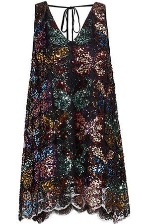 Free People Women Nightdresses & Shirts - Fly Me Away Sequin Minidress