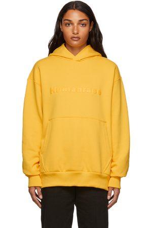 adidas x Humanrace by Pharrell Williams SSENSE Exclusive Humanrace Tonal Logo Hoodie