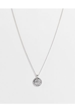 Icon Brand Star and stone pendant in