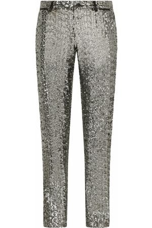 Dolce & Gabbana Sequin-embellished trousers
