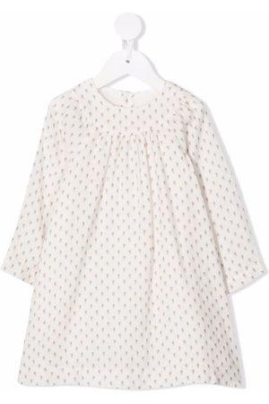 Bonpoint Patterned long-sleeved midi dress