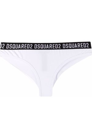 Dsquared2 Logo-waist cotton briefs