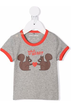 Mini Rodini Wild at Heart print T-shirt
