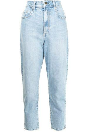 Nobody Denim Frankie high-rise straight-leg jeans