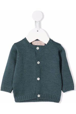 La Stupenderia Button-up cashmere jumper