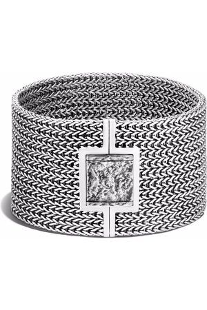 John Hardy Classic Chain reticulated pusher-clasp bracelet