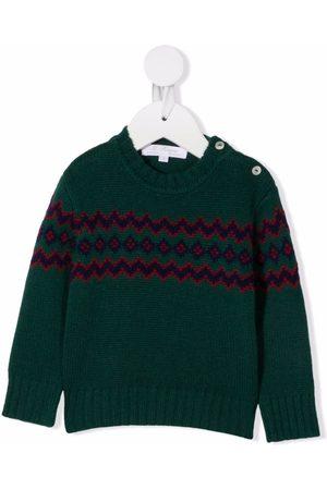 Mariella Ferrari Fair isle-knit jumper
