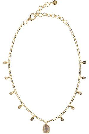 SHAY 18kt yellow diamond Illusion necklace