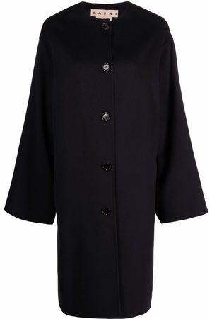 Marni Long-sleeved virgin wool-blend cardi-coat