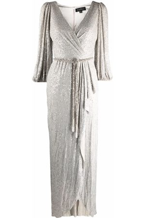 Jenny Packham Octopussy sequinned asymmetric dress