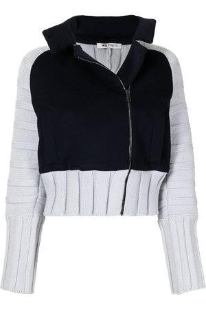 Ports 1961 Women Bomber Jackets - Bomber Pullover knit jacket