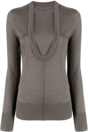 Peter Do Long-sleeve knitted top