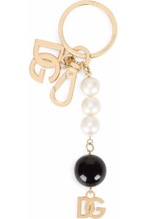 Dolce & Gabbana Women Keychains - Bead-chain logo charm keyring