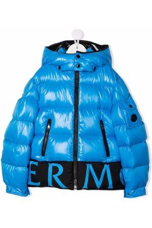 Moncler Pervin logo-trim padded jacket