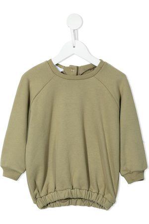 ESHVI Elasticated hem sweatshirt
