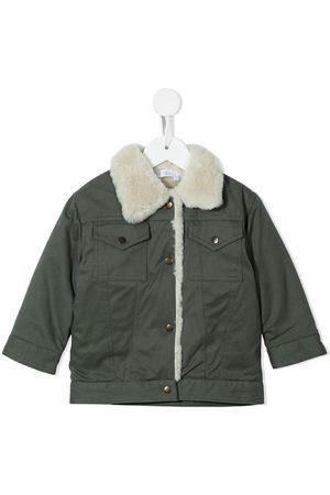 ESHVI Lined buttoned coat