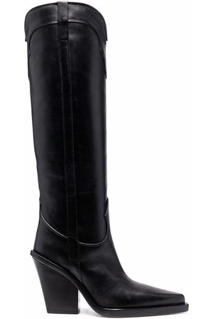 PARIS TEXAS Knee-high pointed-toe boots