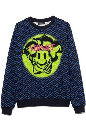 VERSACE Medusa Smile cotton sweatshirt