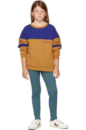 The Campamento Kids Tan & Contrast Sweatshirt