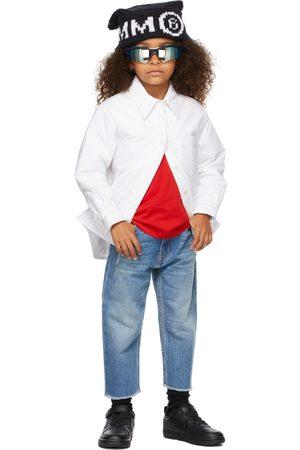 MM6 MAISON MARGIELA Kids Padded Button Up Shirt