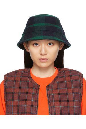 YMC Black & Check Bucket Hat