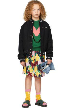 Marni Kids Intarsia 'M' Sweater