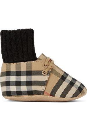 Burberry Socks - Baby Vintage Check Chalburyul Sock Detail Pre-Walkers