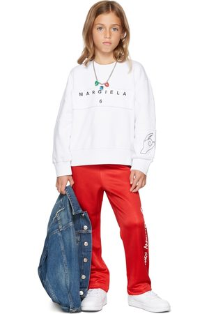 MM6 MAISON MARGIELA Kids 'Margiela' Hand Sweatshirt