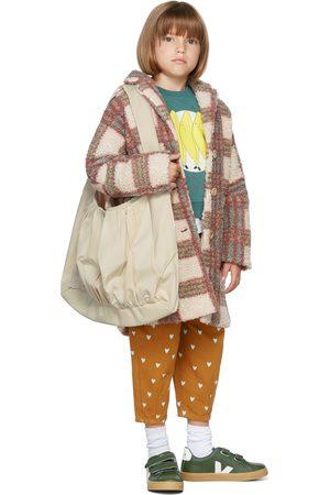 The Campamento Kids Checks Teddy Coat