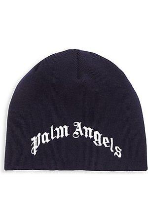 Palm Angels Kid's Classic Logo Beanie Hat