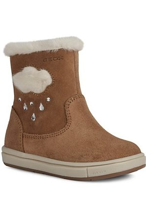 Geox Baby Girl's Trottola Suede Boots
