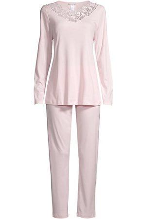 Hanro Women Bathrobes - Hope Lace-Trim 2-Piece Pajama Set