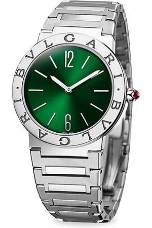 Bvlgari Stainless Steel Bracelet Watch