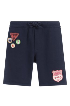 Dsquared2 Boys Boyscout Shorts Navy, 6 Years