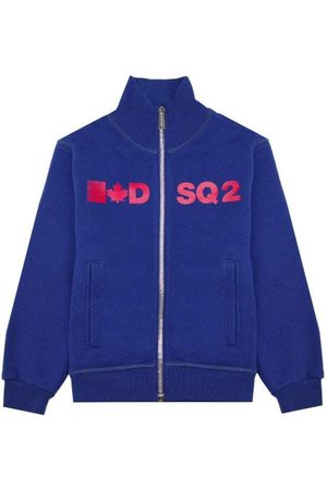 Dsquared2 Boys Zip Sweater Blue, 6 Years