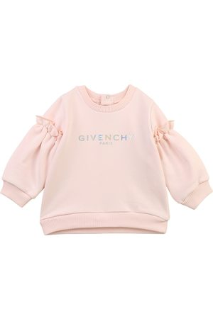 Givenchy Girls Cotton Sweater , 18M