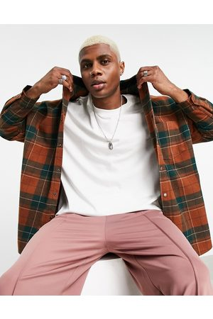 ASOS Super oversized shirt in wool check
