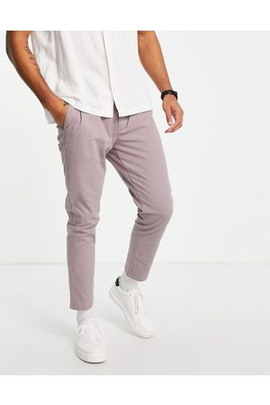 ASOS Cigarette fit chinos in light