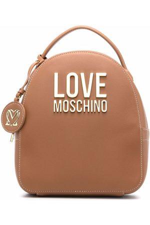 Love Moschino Women Rucksacks - Leather-effect backpack