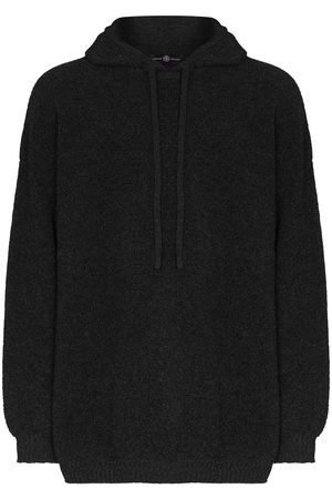 Edward Crutchley Knitted hooded sweater