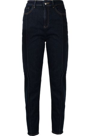 Emporio Armani Women Tapered - High waist tapered jeans