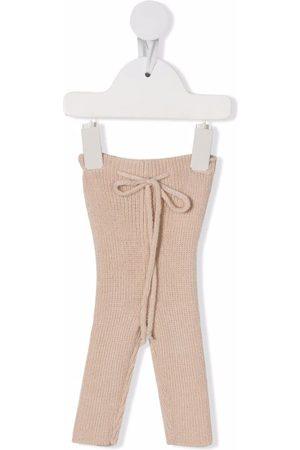 Babe And Tess Baby Leggings - Knit ribbed leggings