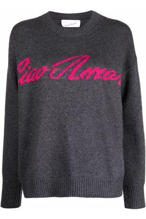 GIADA BENINCASA Intarsia-knit long-sleeve jumper