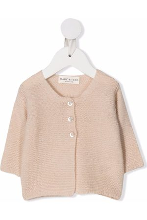 Babe And Tess Pale pink cardigan