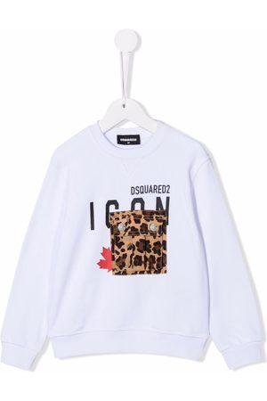 Dsquared2 Icon-print cotton sweatshirt