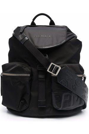 Premiata Lyn logo-print backpack