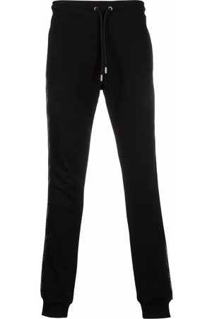 Les Hommes Side-stripe tapered trackpants