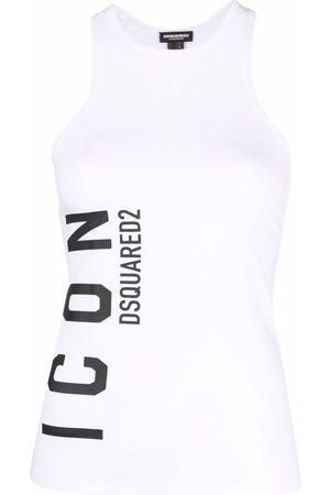Dsquared2 Logo-print tank top